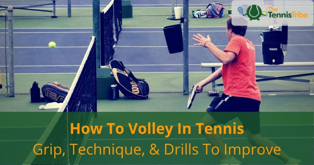 How to volley in tennis